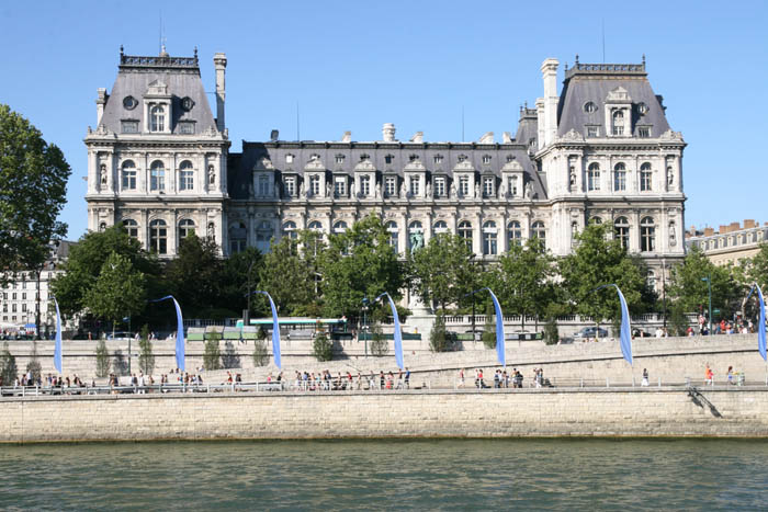Hotel de ville for Piscine hotel paris