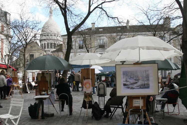 Quartier montmartre sacr coeur for Hotel modigliani parigi