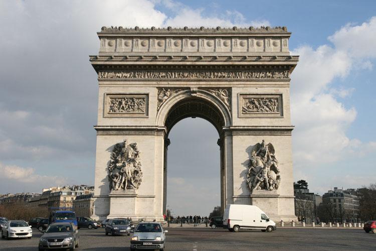Arco di trionfo - Simboli di immagini della francia ...